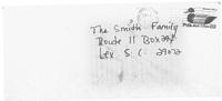 Пликът на писмото на Шари