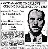 Статия, описваща екзекуцията на Панцрам