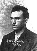 Карл Панцрам под името Джеф Дейвис в щатския затвор в Монтана
