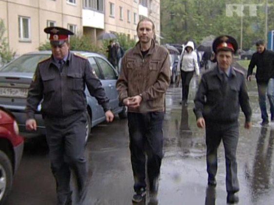 Николай Шадрин бе задържан с окървавени ръце
