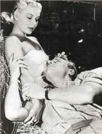 Барбара Пейтън и Джеймс Кагни в Kiss Tomorrow Goodbye