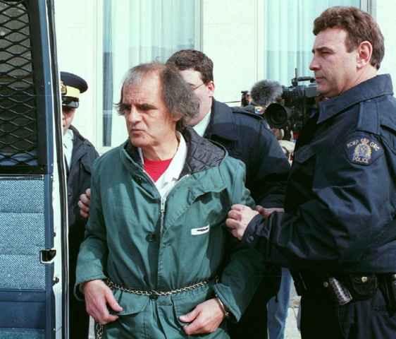 Клифърд Олсън - април 1996 година