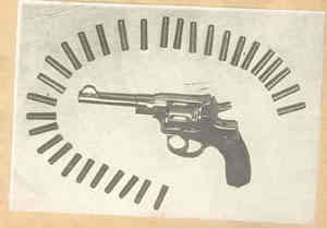 Револверът на Лабуткин със самоделни патрони