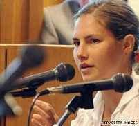 Аманда Нокс в съда