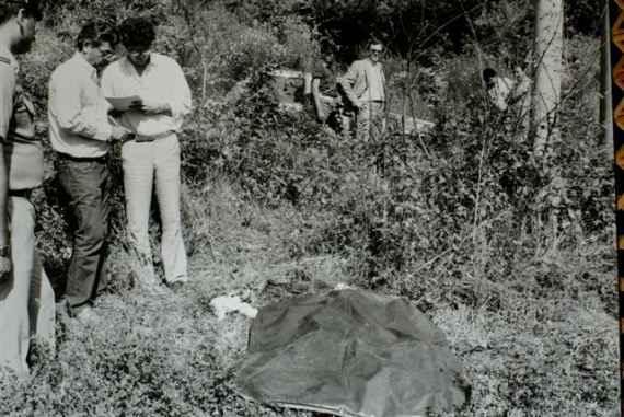 Местопрестъплението във Викио ди Мугело