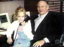 Джонбеней с баща си Джон Рамзи