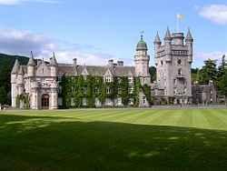 Замъкът Балморал в Шотландия