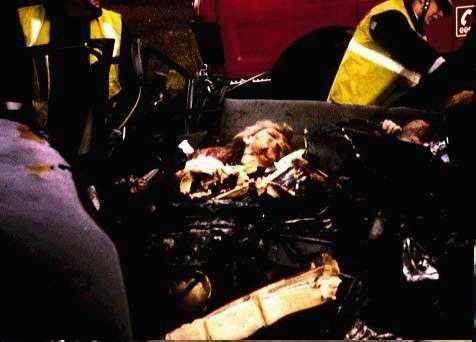 Снимка на ранената Даяна