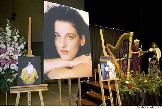 Погребението на Чандра Леви