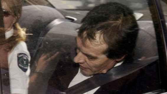 Марк Рей Хейдън напуска Върховния съд през декември 2004 г.