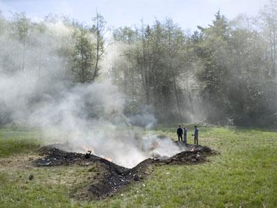 Мястото на катастрофата на Полет 93