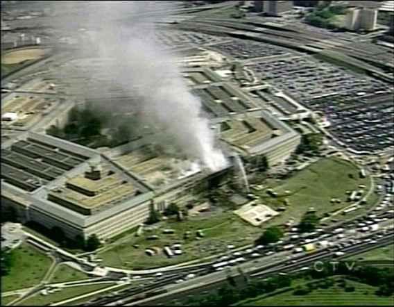 Странното обаче е, че няма нито едно изображение на приближаващия се или разбиващия се в Пентагона Боинг 757