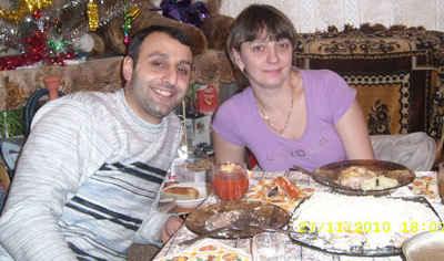 Бащата и майката на Максим А.