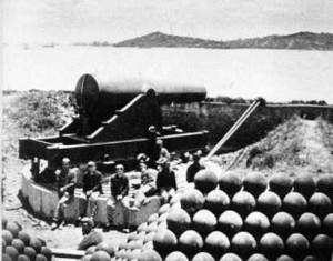 Алкатраз като военно укрепление (1869 г.)