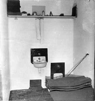 Затворническа килия в Алкатраз