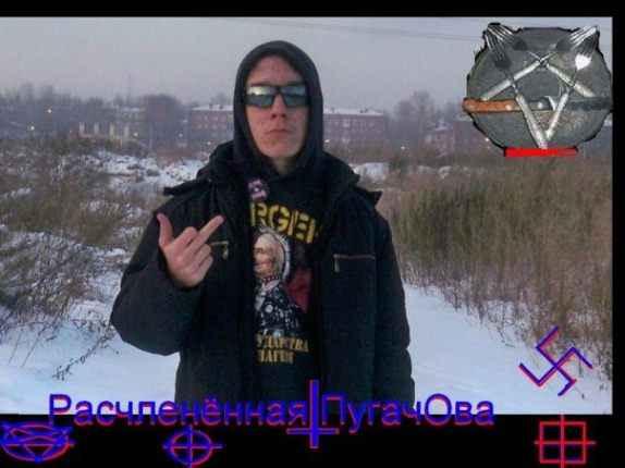 """Никита Литкин създава в социалните мрежи група под названието Иркутска антиклошарска банда: """"Магия на кръвта"""""""