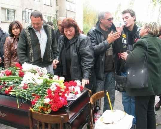 Погребението на Кристин