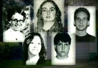 От ляво надясно – Сюзън Нор, Териса Нор, Робърт Нор, Уилям Нор, Териса Сандърс.