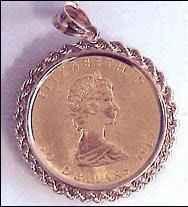 Единствената монета, възстановена от полицията