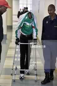 Золиле Мнгени след операцията в съда