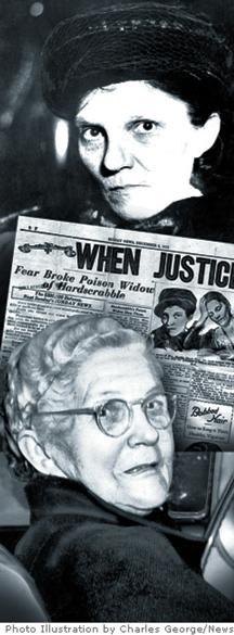 Марта Уайз при освобождаването си от затвора.