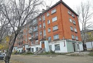 Жилищна сграда, в която е извършено едно от убийствата.