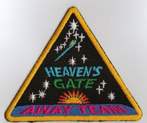 """Емблемата """"Гостуващ отбор на Небесни порти"""""""