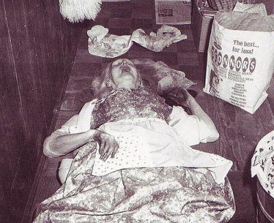 Тялото на майката на Джон Лист Алма