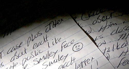 Писмата на Убиеца с усмихнато лице