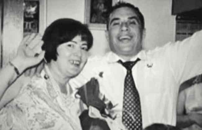 Репортерът Владо Танески и неговата съпруга Весна