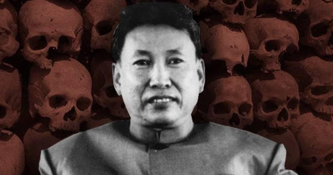 Диктаторът Пол Пот и Червените Кхмери
