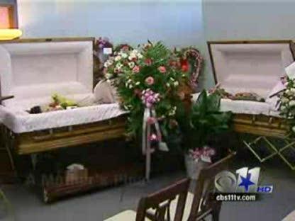Погребението на Амина и Сара Саид